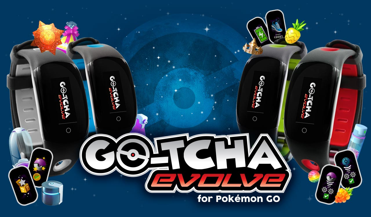 Go-tcha Evolve Page Splash